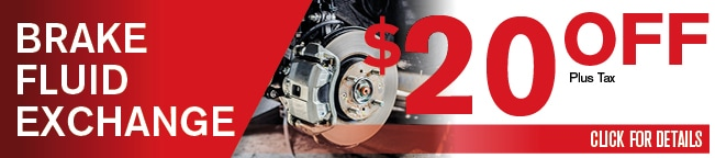 Brake Fluid Exchange Coupon, Dallas Area Automotive Service