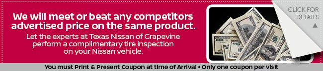 Free Tire Inspection, Grapevine