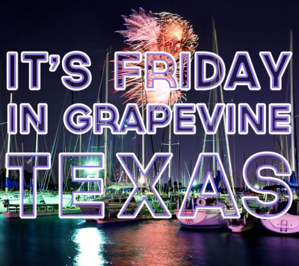 Friday Night Fireworks in Grapevine