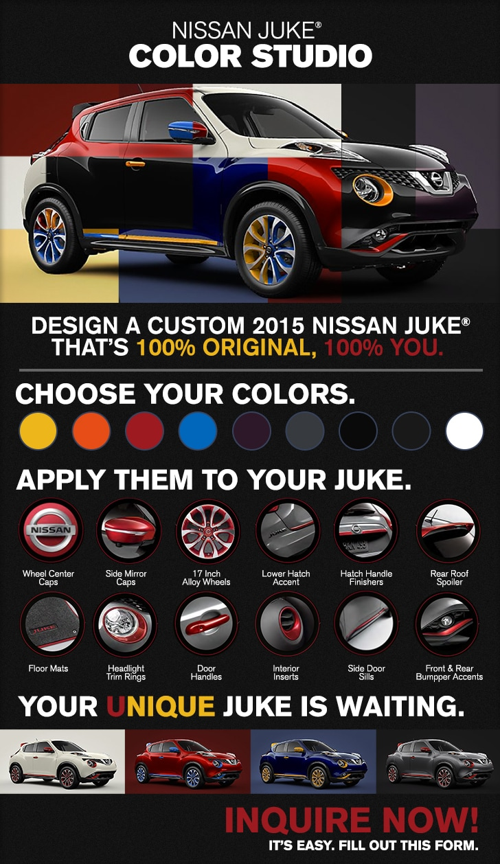 Nissan Juke Color Studio, Grapevine TX