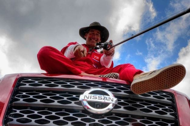 Nissan TITAN Teams Up With Professional Fishmerman, Eric Jackson