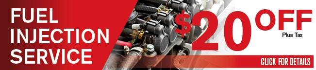 Fuel Injection Service Check Coupon, Dallas Area Automotive Service