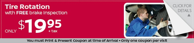 Tire Rotation Coupon, Grapevine