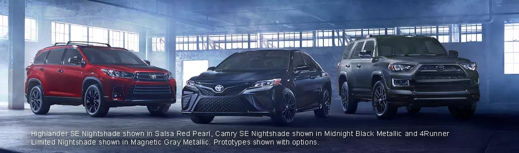 Toyota Nightshade Special Editions