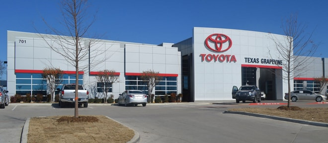 Toyota of Grapevine Address | Hours of Operation | Dallas, TX