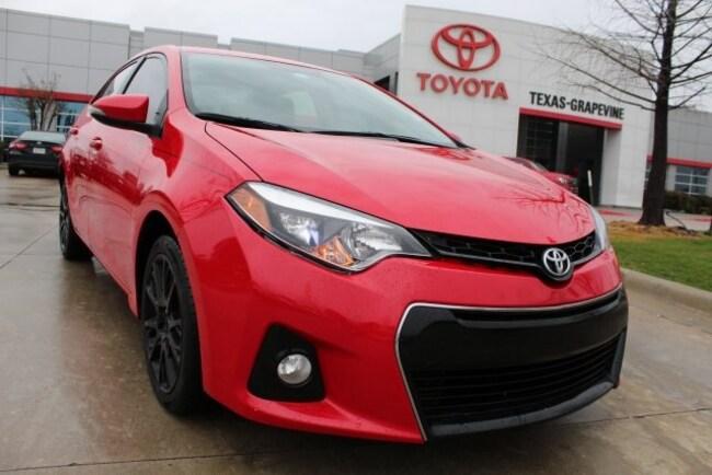 2016 Toyota Corolla S Special Edition Sedan