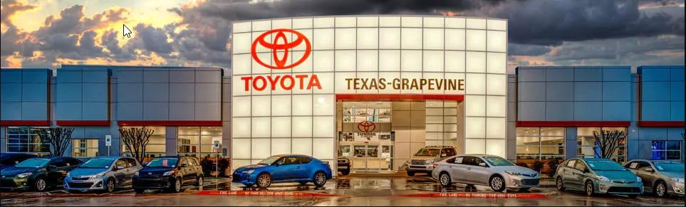 About Toyota of Grapevine | Toyota Parts & Service | Dallas & Plano, TX