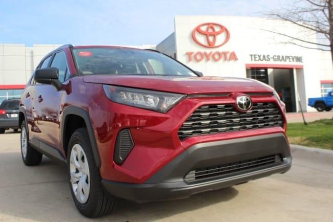 New 2019 Toyota Rav4 For Sale Ruby Flare Pearl 2019 Rav4 Le