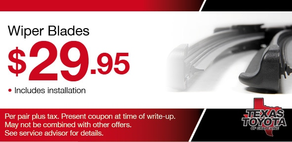 Windshield Wiper Blades, Grapevine, TX Automotive Service Special Special