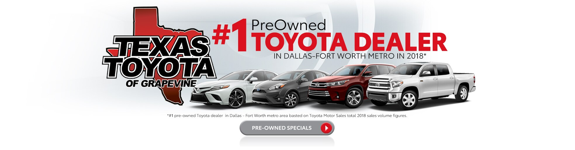 Toyota Dealerships Dfw >> New Used Cars Trucks Suvs Toyota Dealer In Grapevine
