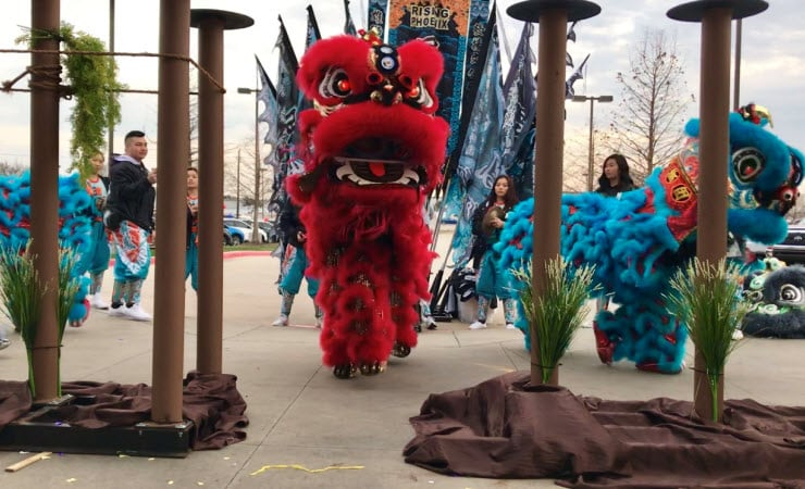 Chinese New Year Event in Dallas Area