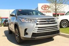 New 2019 Toyota Highlander LE V6 SUV for sale Philadelphia