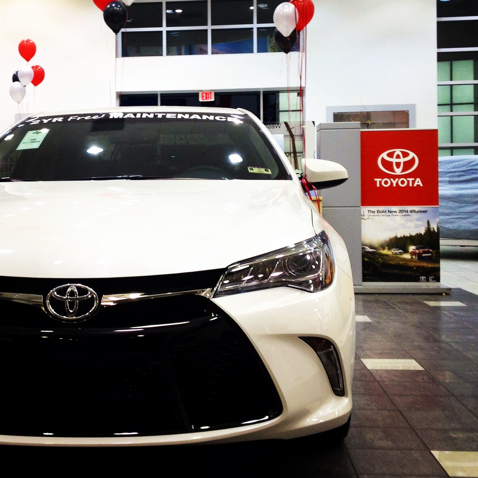 Texas toyota of grapevine would like to thank everyone who came out and celebrated the launch of the brand new 2015 toyota camry in dallas