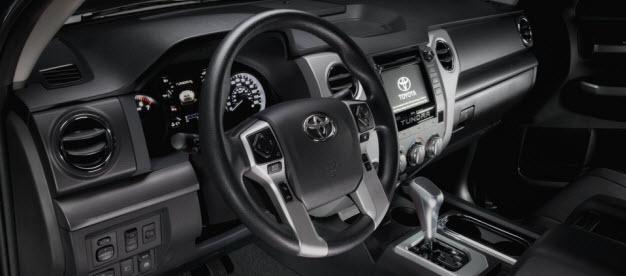 2017 Toyota TRD Sport Interior