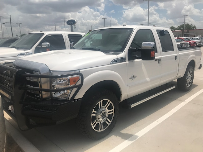 Used 2016 Ford F250 Platinum for Sale in Stephenville, TX