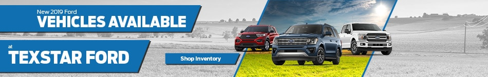 January New 2019 Ford Vehicles Available