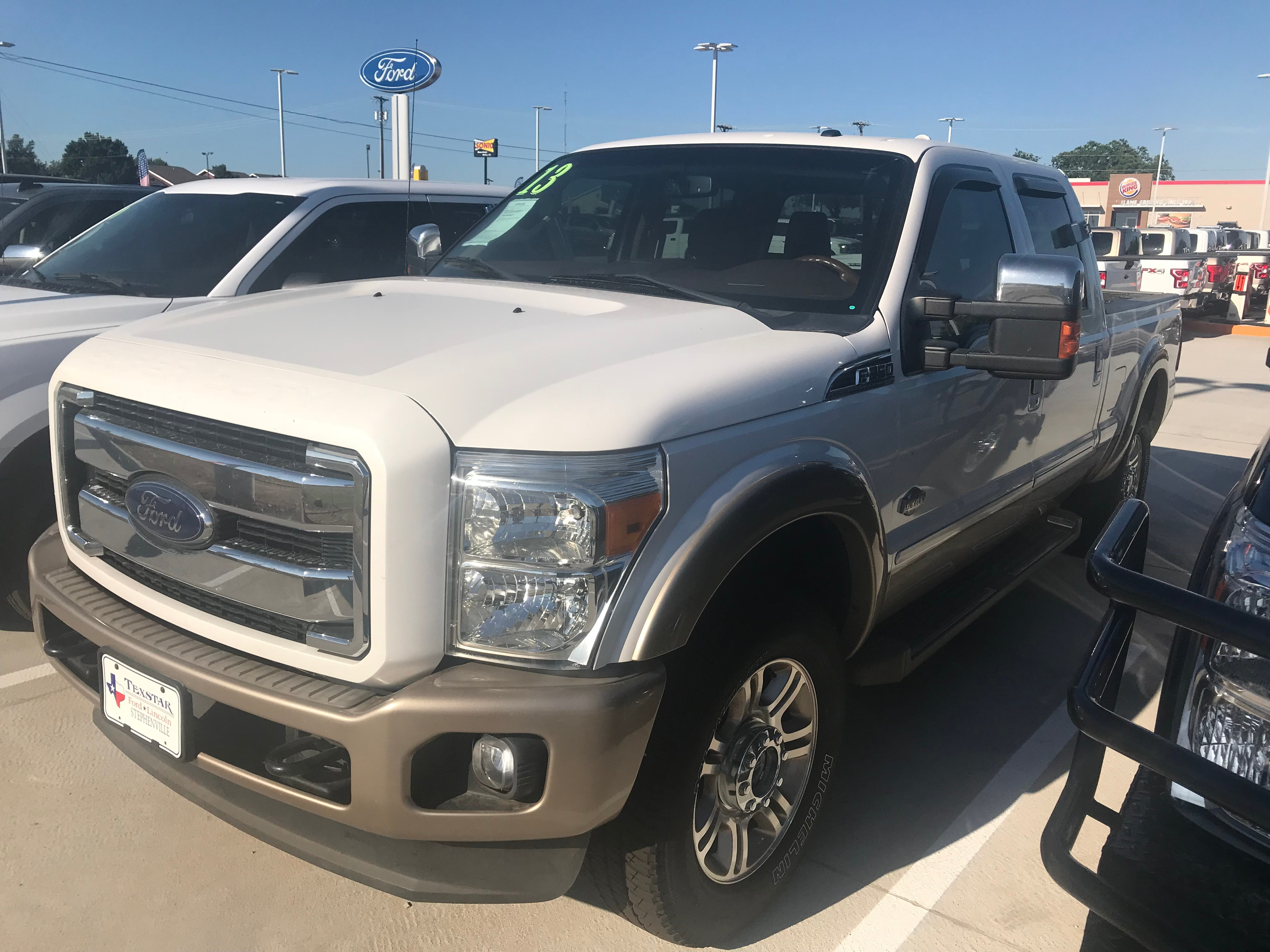 2013 Ford Super Duty F-25 King Ranch Crew Cab Truck