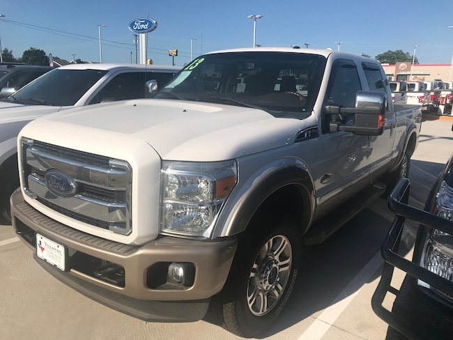 Used 2013 Ford F250 King Ranch Crew Cab Truck for Sale in Stephenville, TX