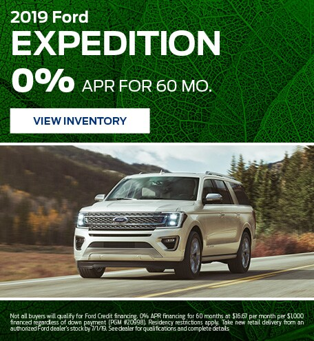 New 2019 Ford Expedition 4/5/2019