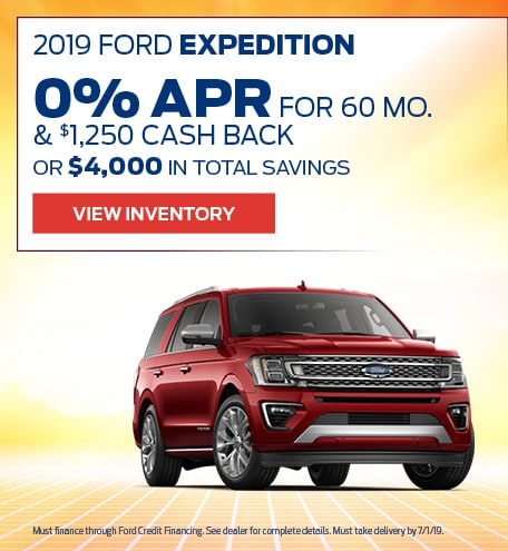 New 2019 Ford Expedition 6/17/2019