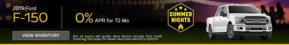 APR 2019 Ford F-150 9/12/2019