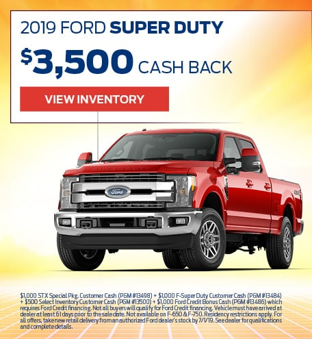 New 2019 Ford Super Duty 6/17/2019