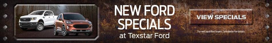 New Ford Specials at Texstar Ford - October 2020