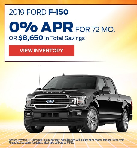 New 2019 Ford F-150 6/17/2019