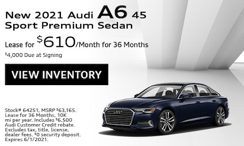 New 2021 Audi A6 45 Sport Premium Sedan - May