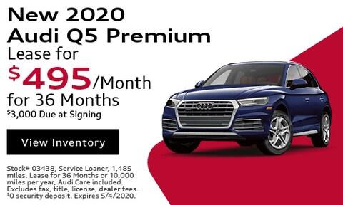 New 2020 Audi Q5 Premium - April
