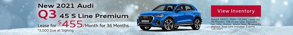 New 2021 Audi Q3 45 S Line Premium - Dec