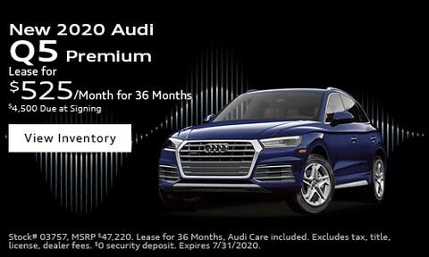 New 2020 Audi Q5 Premium - July