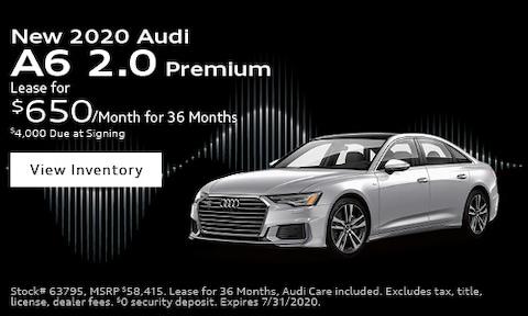New 2020 Audi A6 2.0 Premium - July