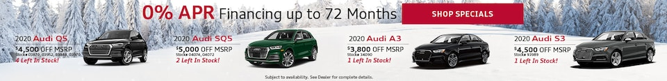 0% APR Financing up to 72 Months - Jan