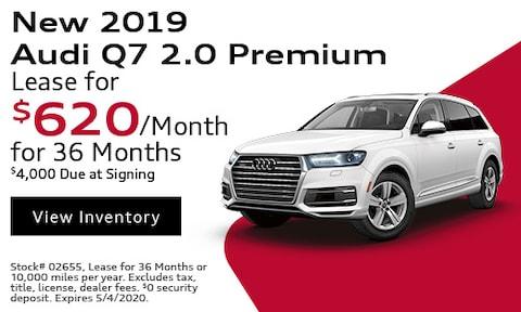 New 2019 Audi Q7 2.0 Premium - April