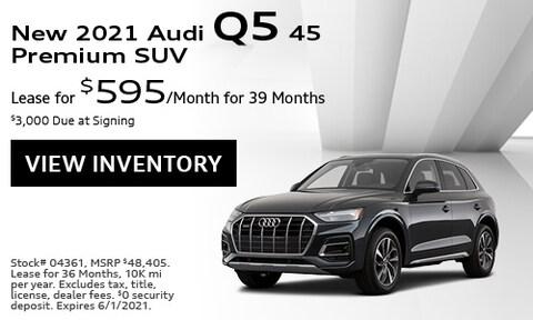 New 2021 Audi Q5 45 Premium SUV - May