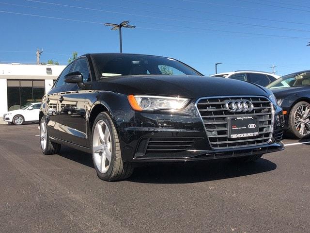 Certified 2016 Audi A3 2.0T Premium Sedan for sale near Chicago, IL at Audi Exchange