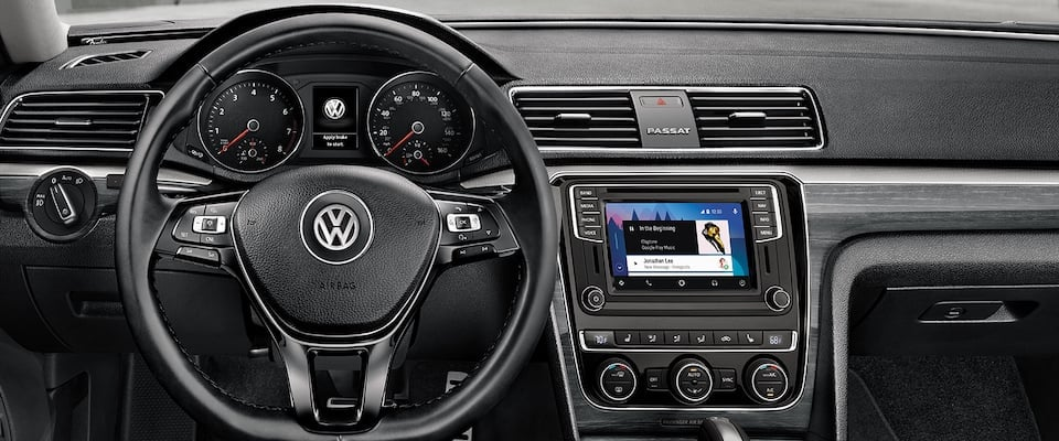 2018 Volkswagen passat in dashboard