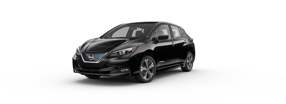 2019 NISSAN LEAF Black