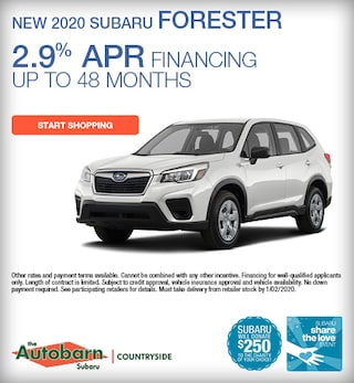 New 2020 Subaru Forester - December Special
