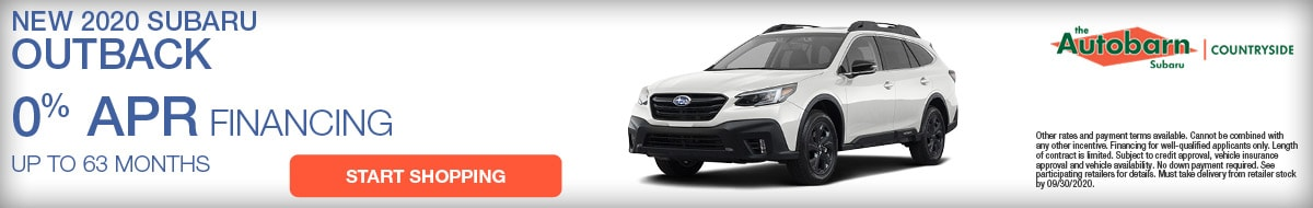 2020 Subaru Outback September Special