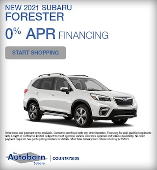 New 2021 Subaru Forester - May Special
