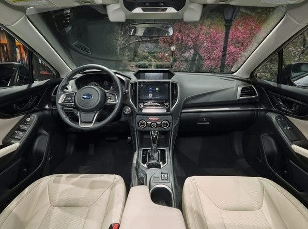 new subaru impreza interior