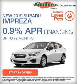 2019 Subaru Impreza Offer
