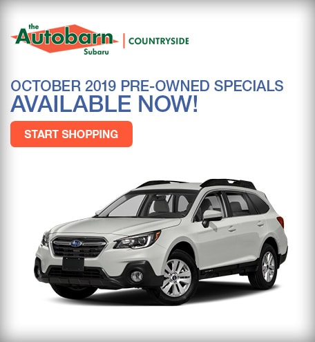 October Pre-Owned Specials