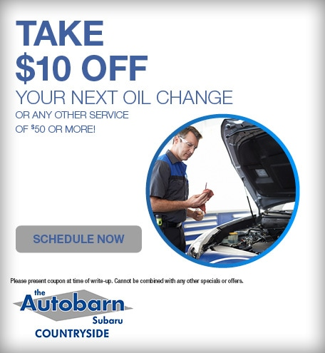 Take $10 OFF Your Next Oil Change