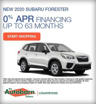 New 2020 Subaru Forester - April Special