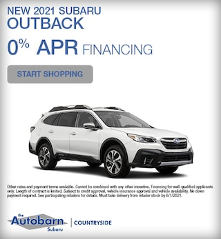 New 2021 Subaru Outback - May Special