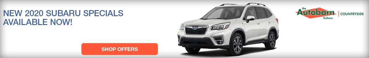 New 2020 Subaru Specials