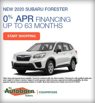 July - 2020 Subaru Forester